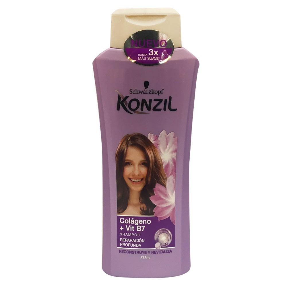 Shampoo Konzil colágeno reparación profunda x 375 ml