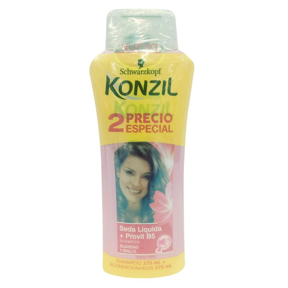 Shampoo Konzil seda liquido provit B5 + acondicionador