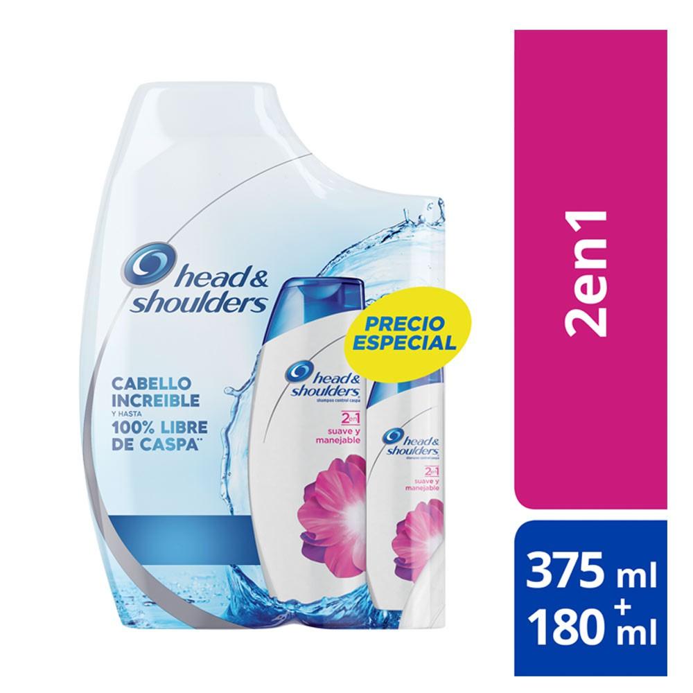 Shampoo H&S suave y manejable