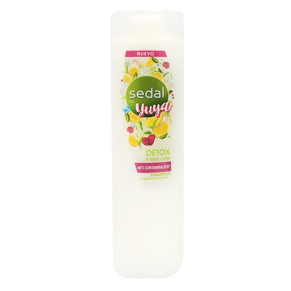 Shampoo Sedal by yuya detox  te verde limon  x  340 ml