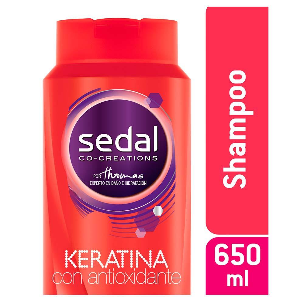 Shampoo Sedal Keratina con Antioxidante