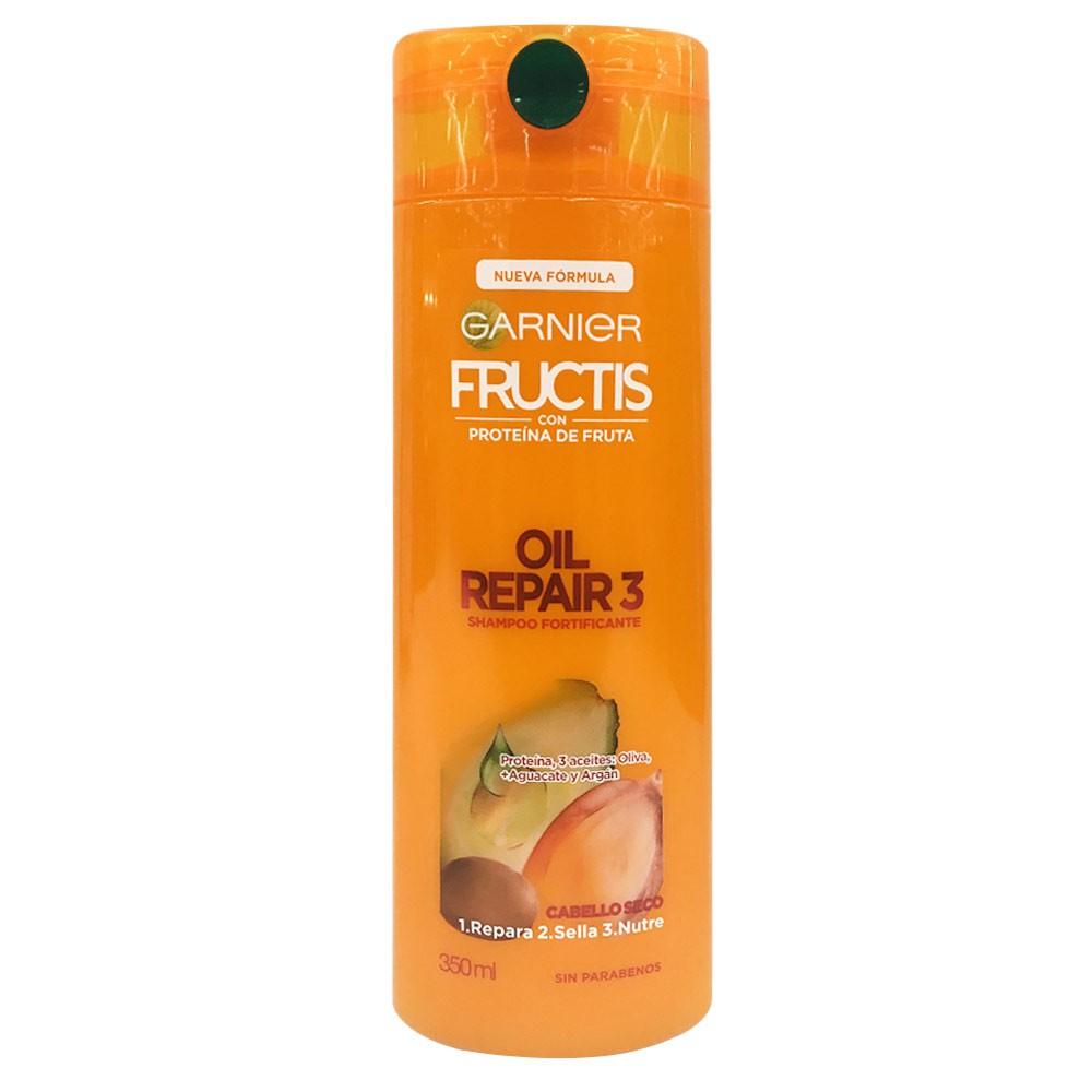 Shampoo fructis acte reparación 3 seco