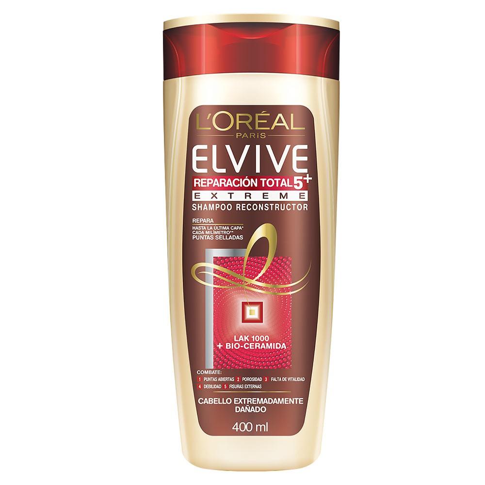 Shampoo Elvive Reparación Total 5 Extreme