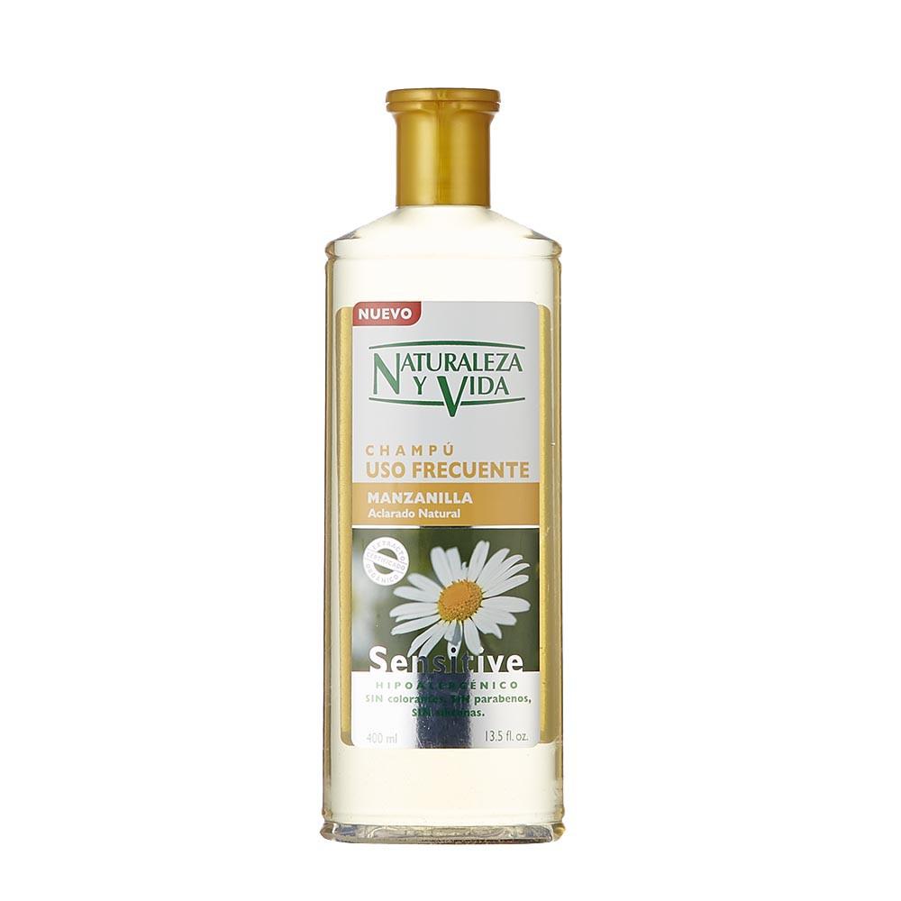 Shampoo naturaleza y vida manzanilla