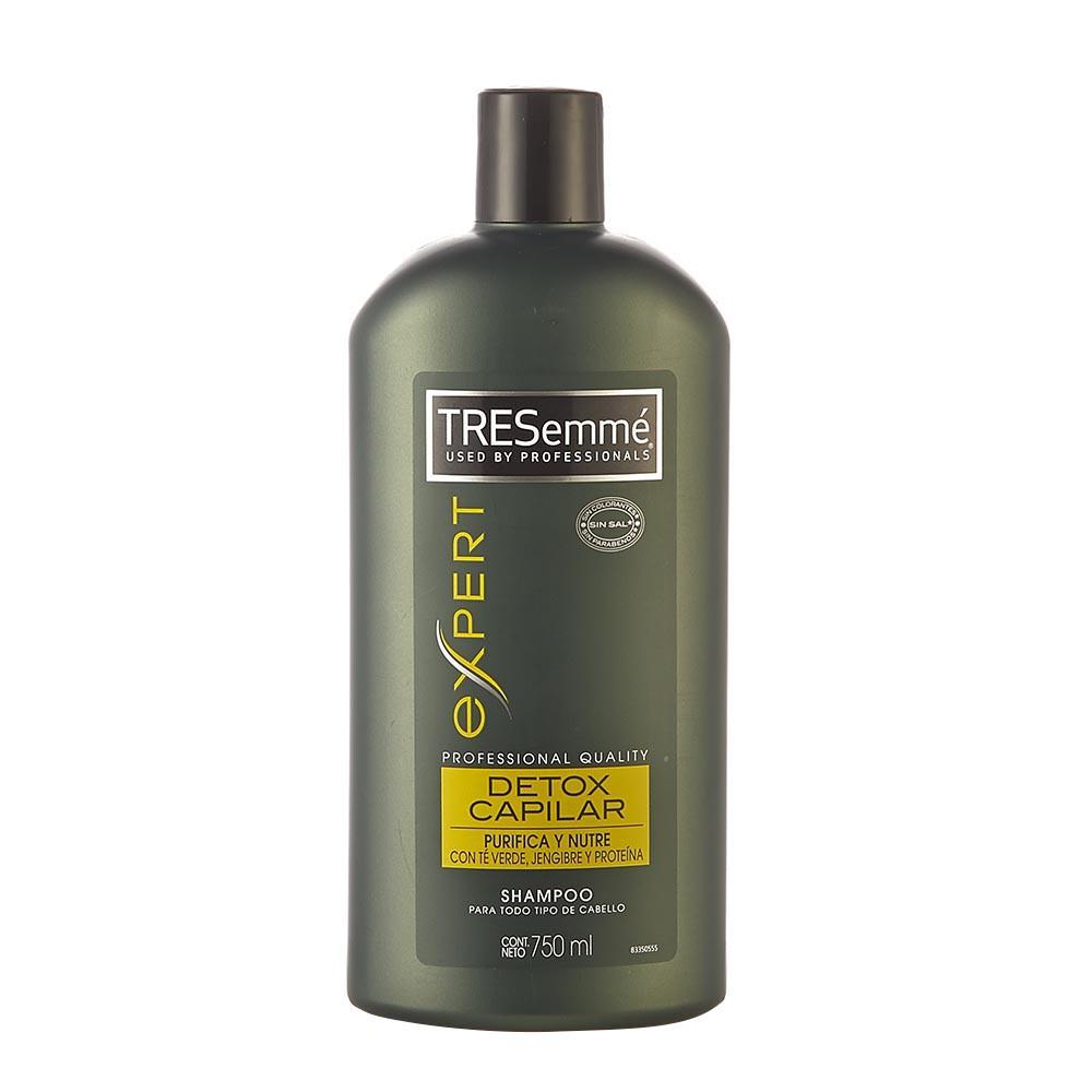 Shampoo Tresemm detox capilar