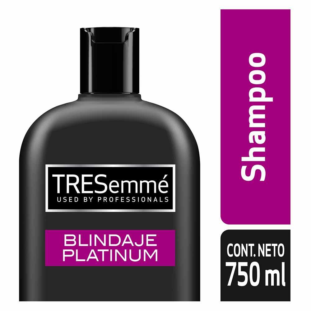 Shampoo TRESemmé Blindaje Platinum