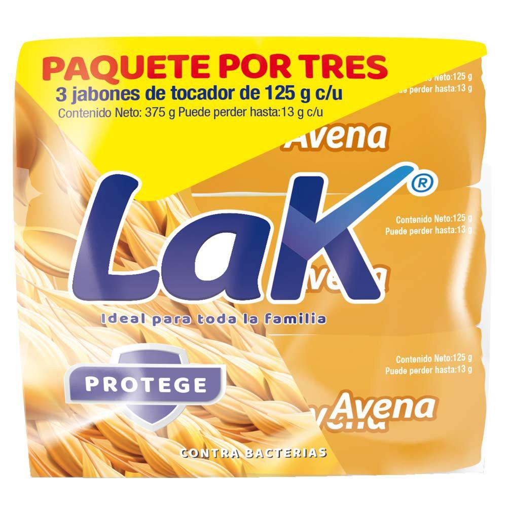 Jabón Lak protege avena