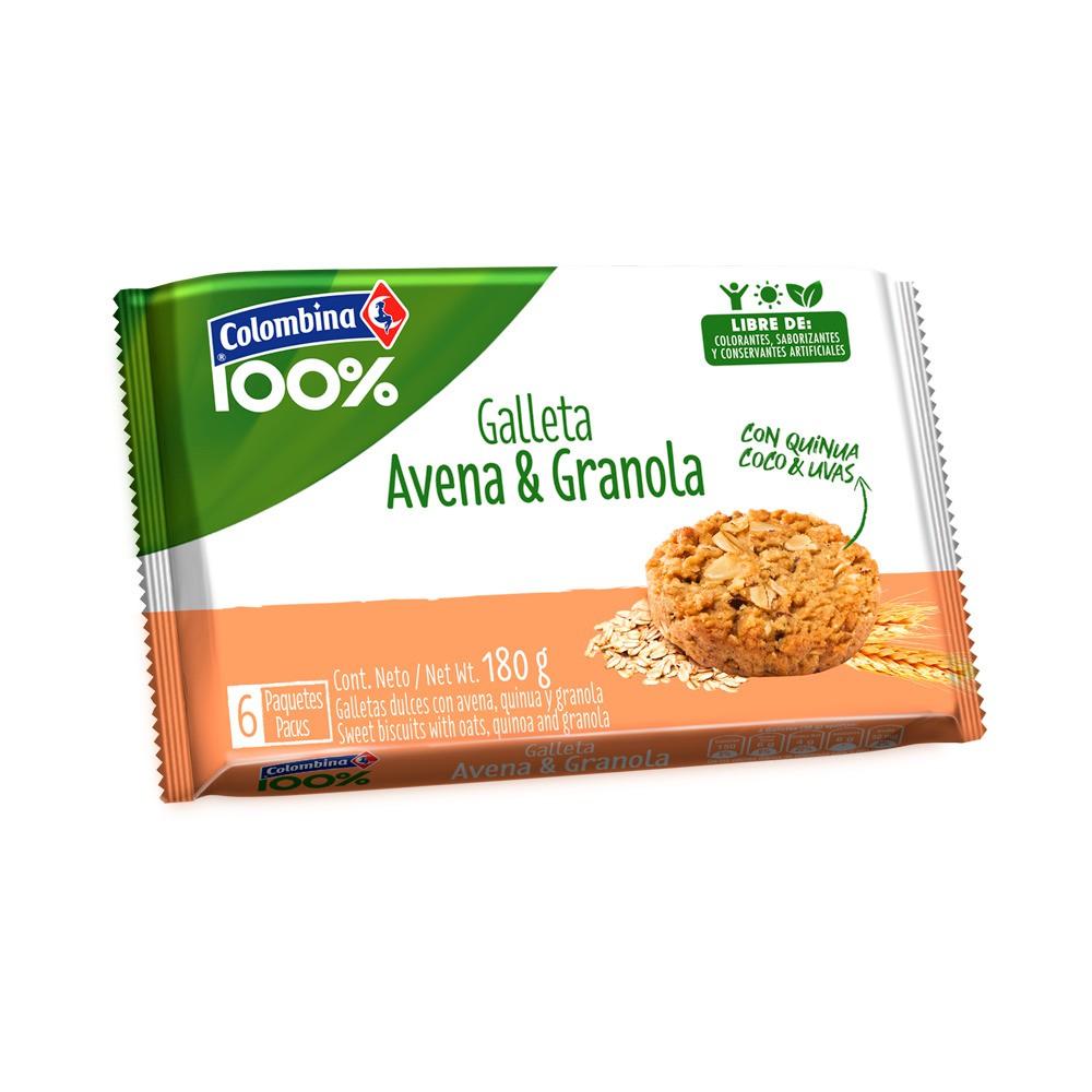 Galleta de avena & granola