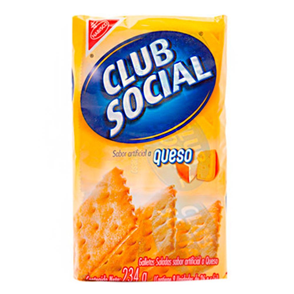 Galleta Club Social Queso