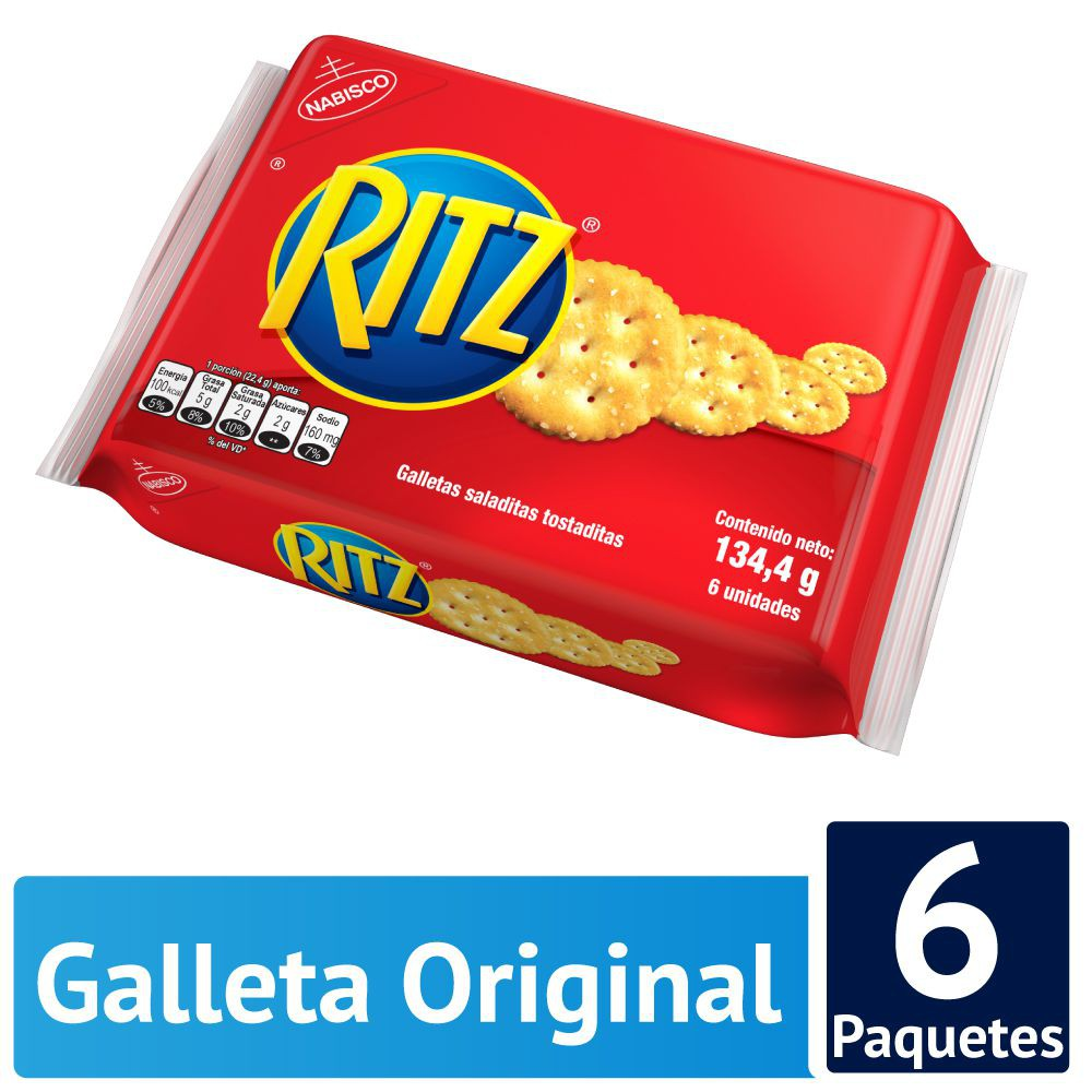 Galletas saladas sabor original
