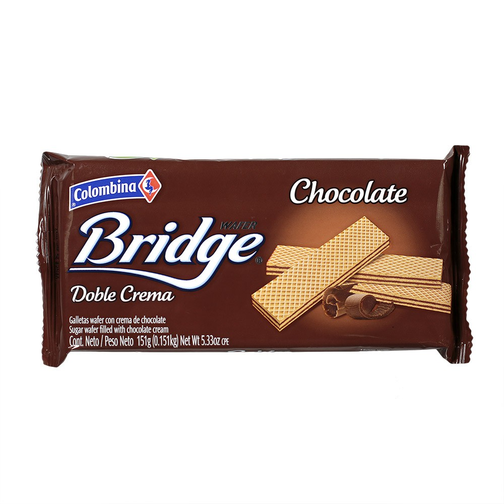 Galleta Wafer Bridge Chocolate