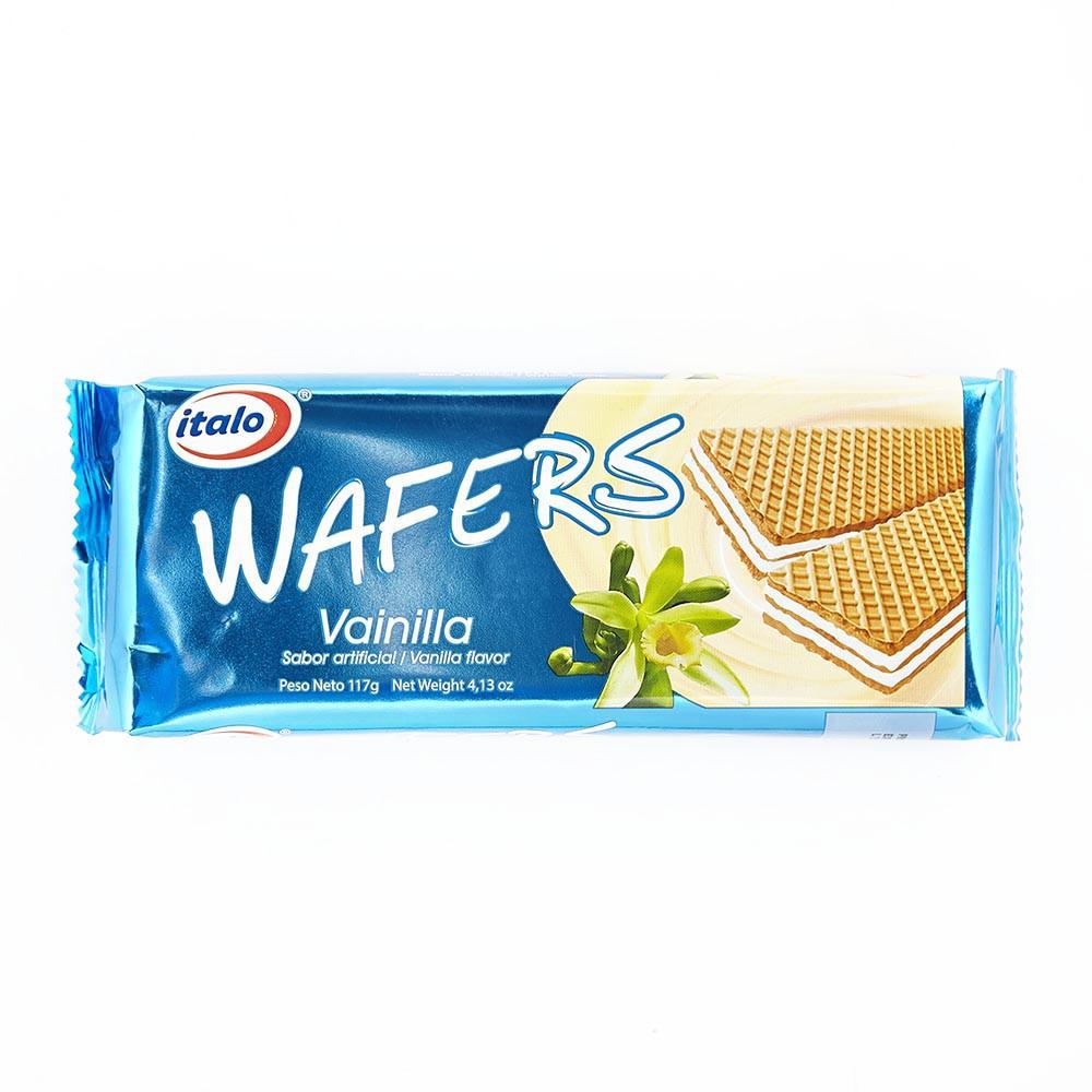 Wafer paquetaco vainilla Italo x 117g