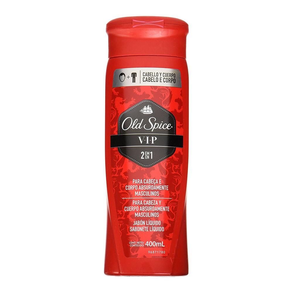 Old Spice Red Zone VIP 2 En 1 Jabón Líquido