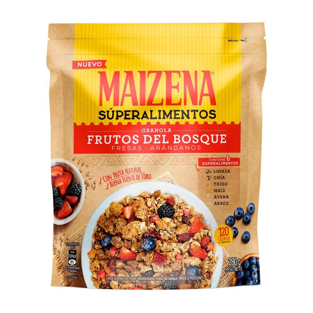 Granola Maizena frutos bosque