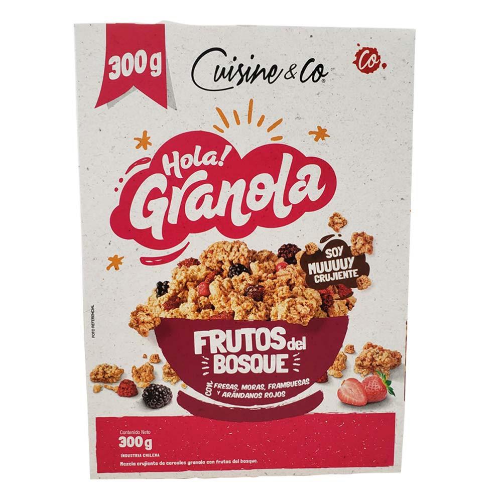 Granola de frutos del bosque Cuisine & Co