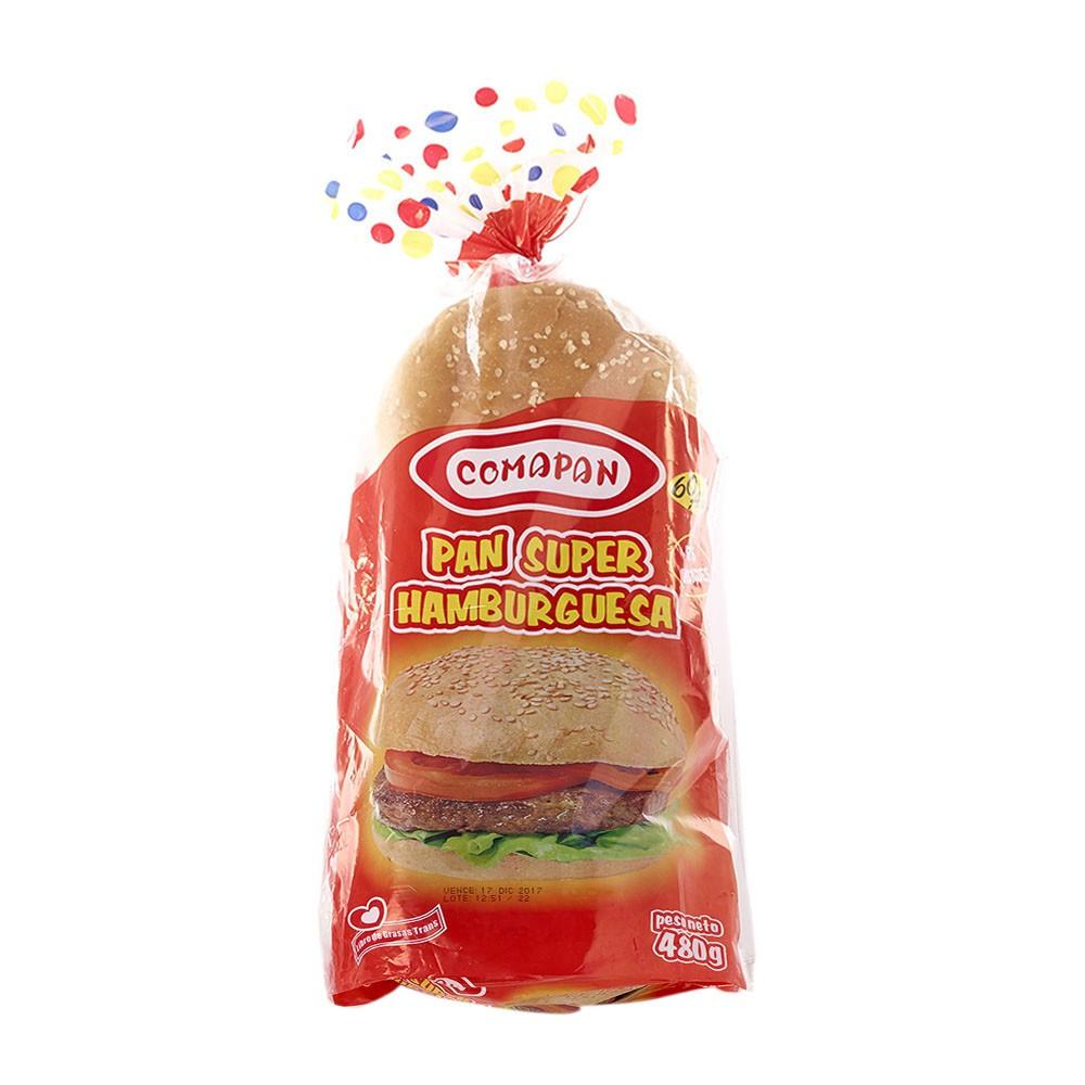 Pan súper hamburguesa