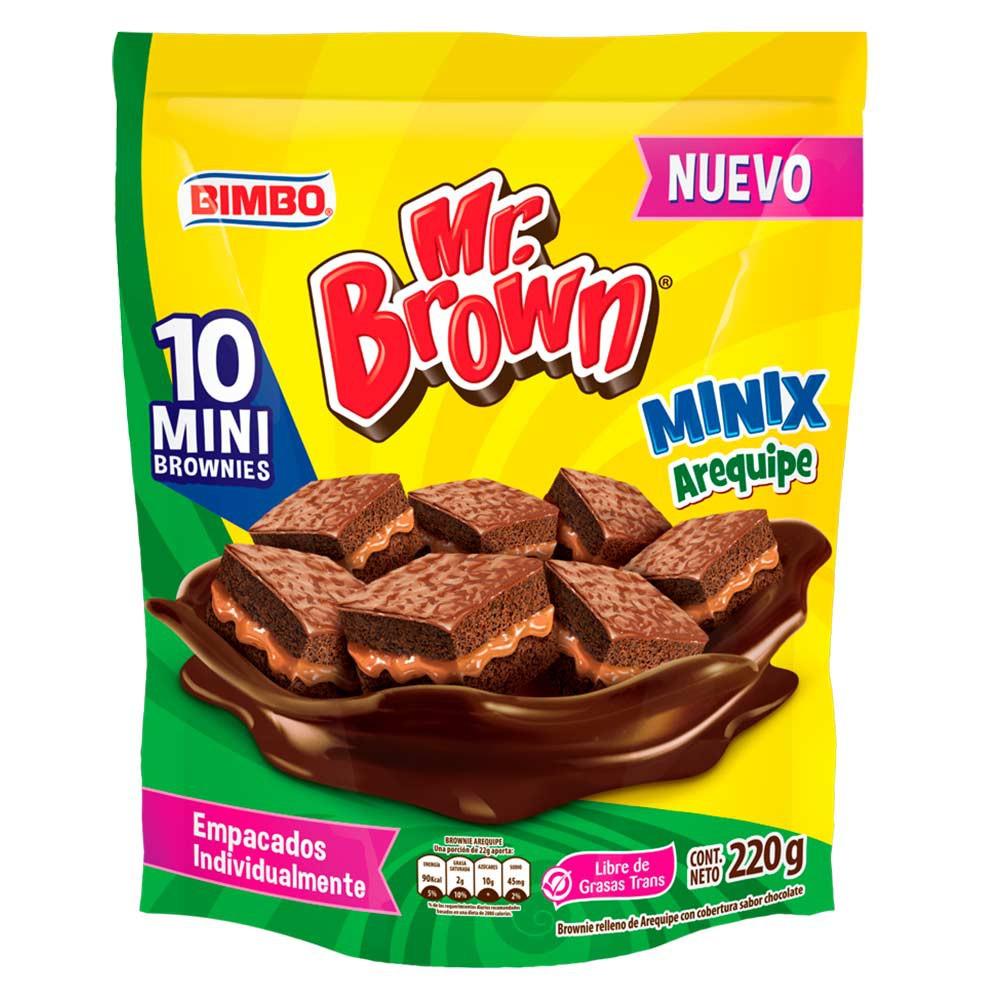Minix brownie arequipe Bimbo 10 Und