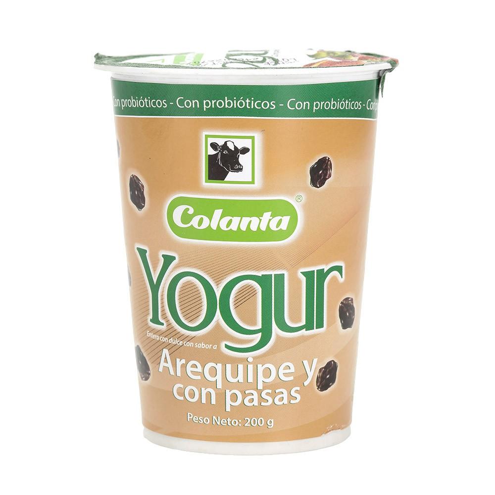Yogurt arequipe vaso