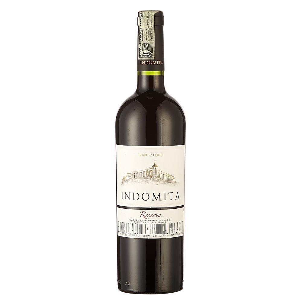 Vino cabernet sauvignon Indomita reserva x 750 ml