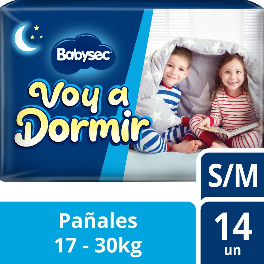Pañales de bebé Voy a Dormir talla S/M