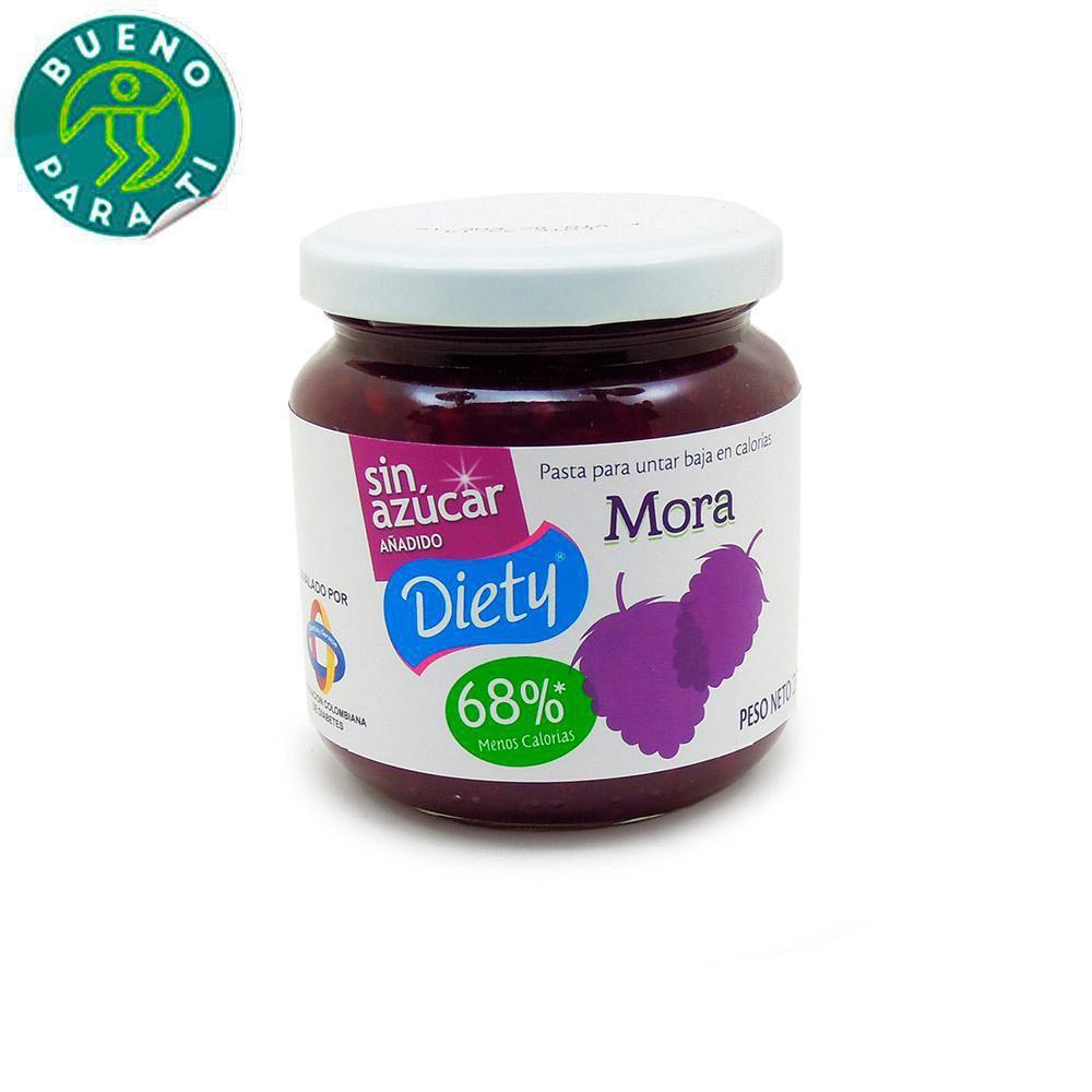 Mermelada Diety Mora Frasco X 230 gr