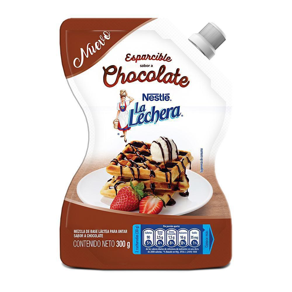 Mezcla La Lechera esparcible chocolate