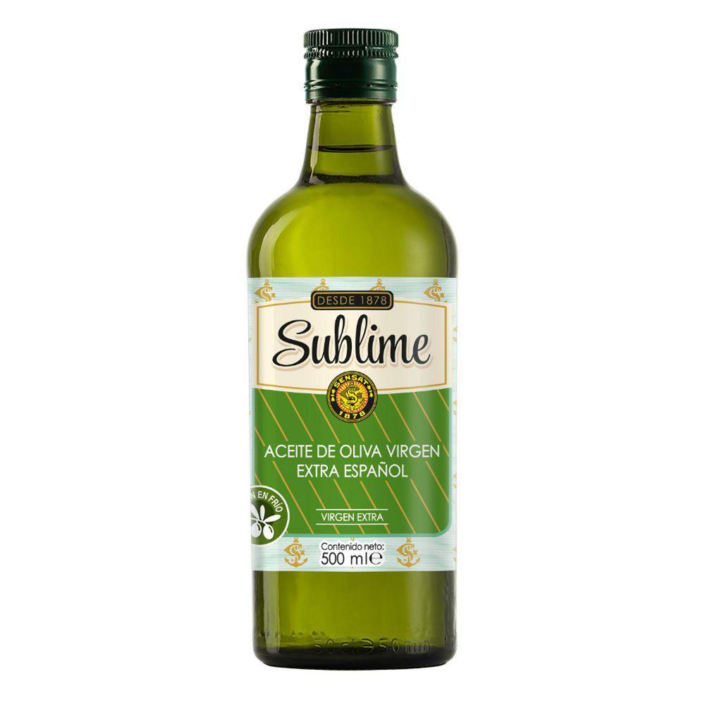 Aceite de oliva español Sublime extra virgen