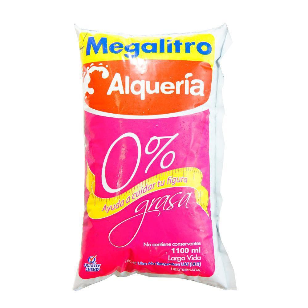 Leche 0% grasa megalitro