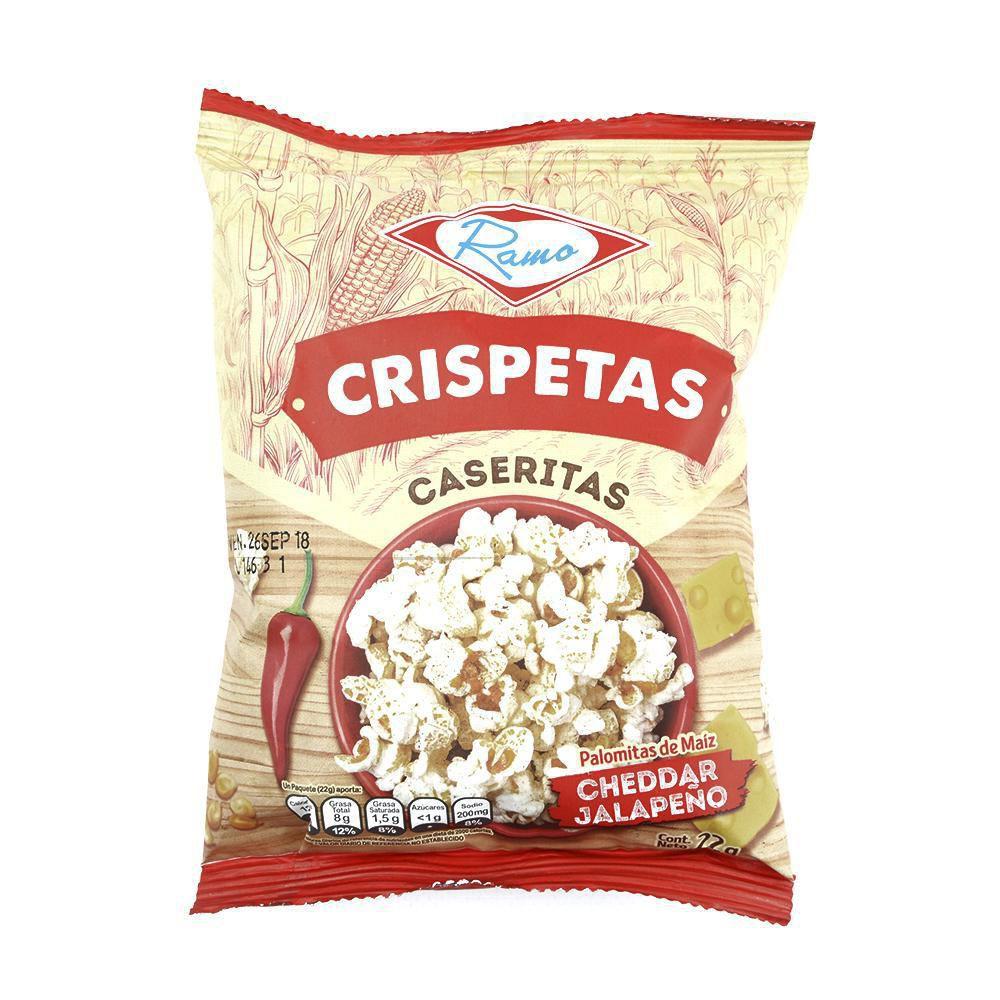 Crispeta indv. queso jalapeño