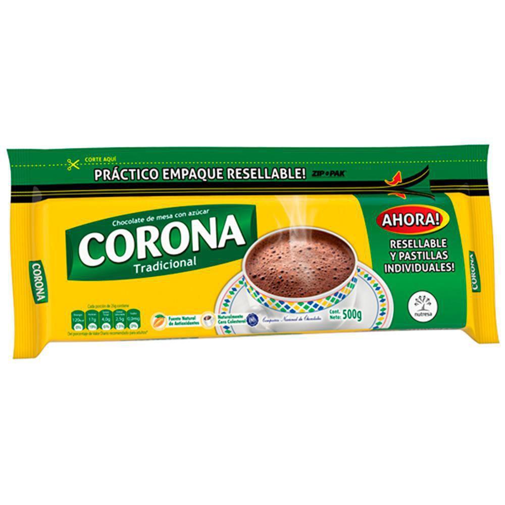 Chocolate Con Azúcar X 20 Pastillas X 500 gr