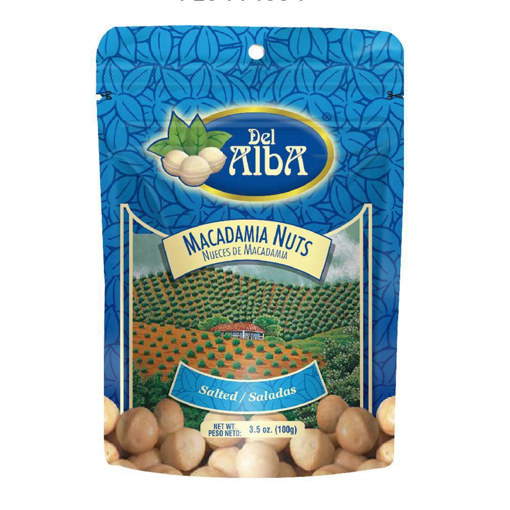 Macadamia nuts del alba