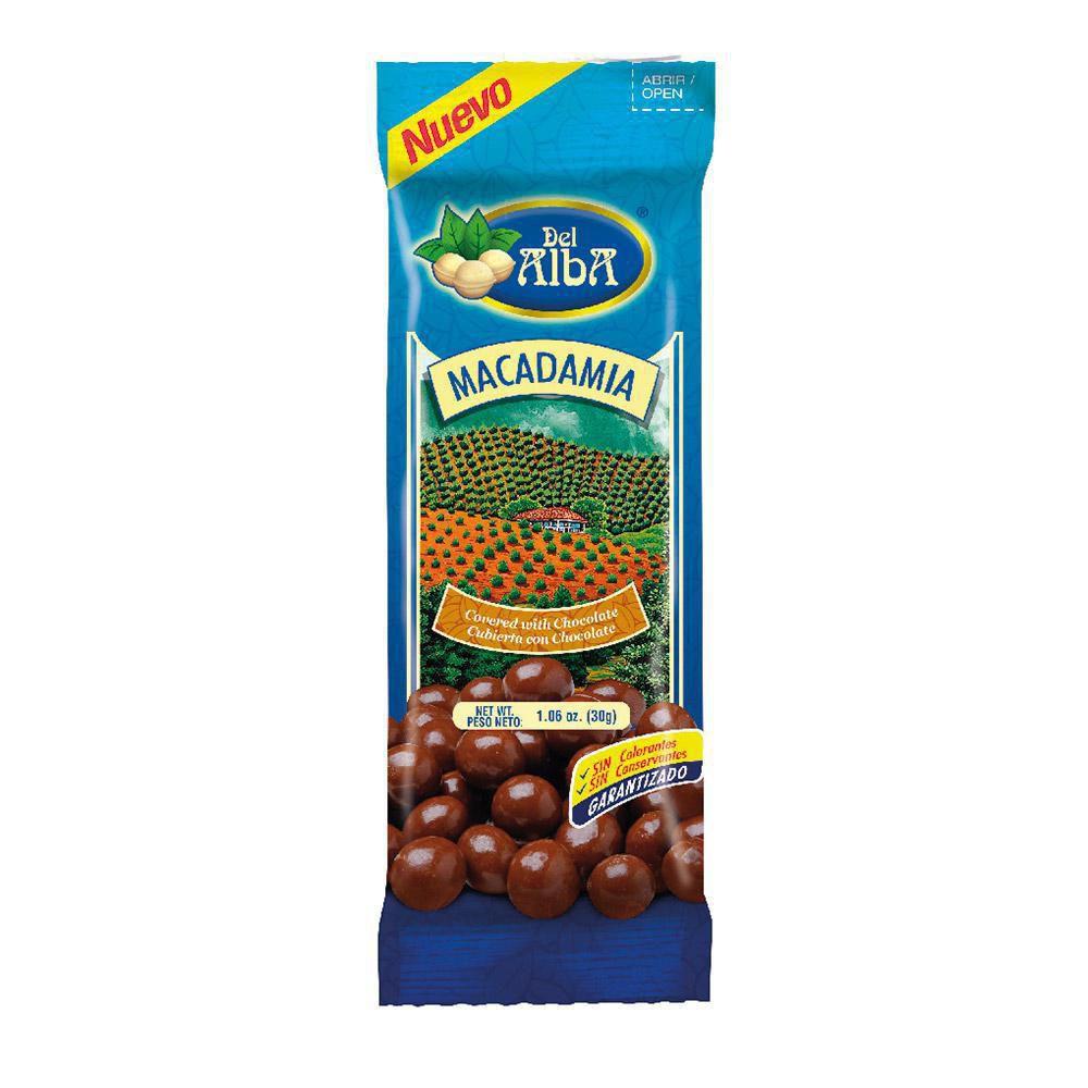 Macadamia Cubierta Con Chocola