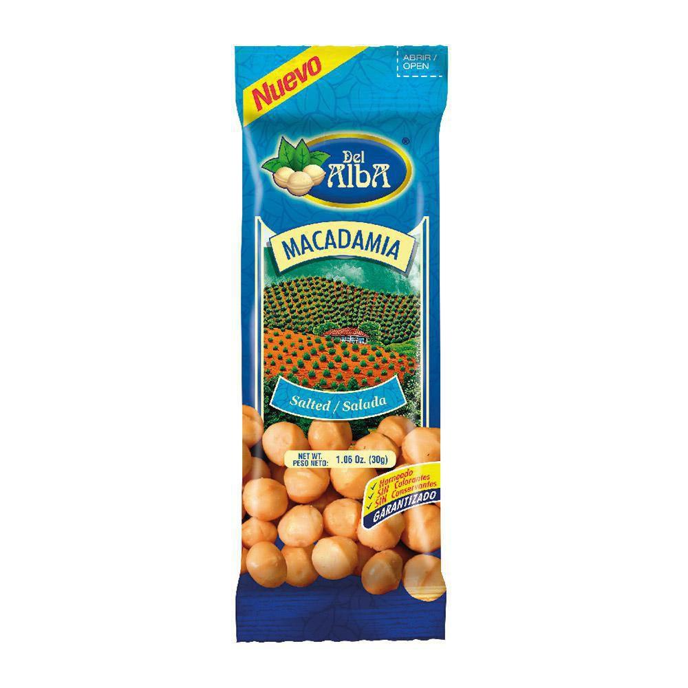 Macadamia Salada X 30 Gramos