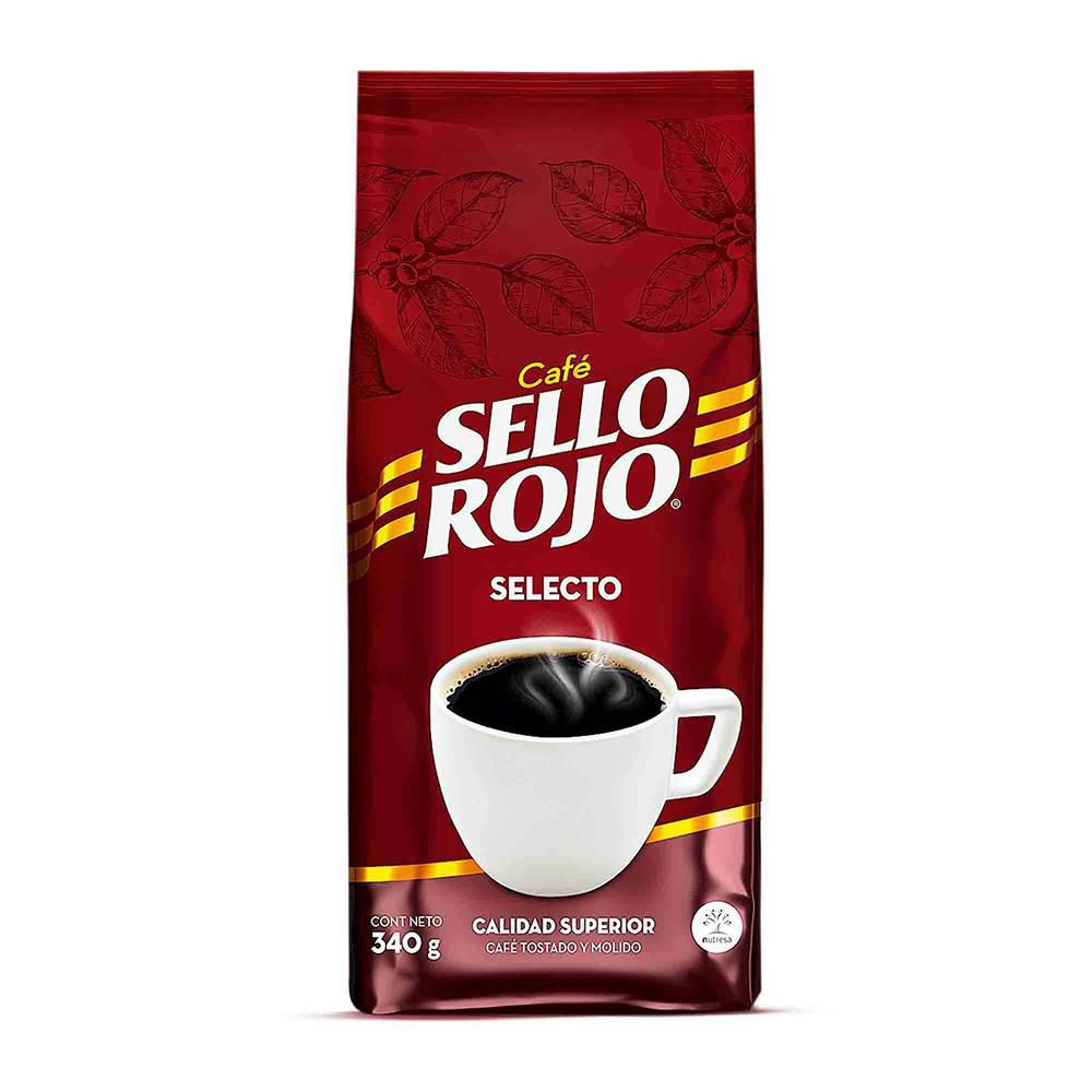 Café Sello Rojo selecto tostado molido