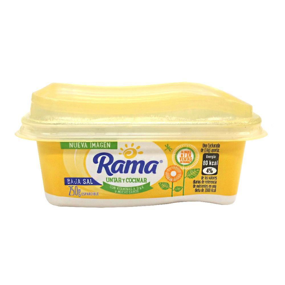 Margarina Baja En Sal X 250 gr