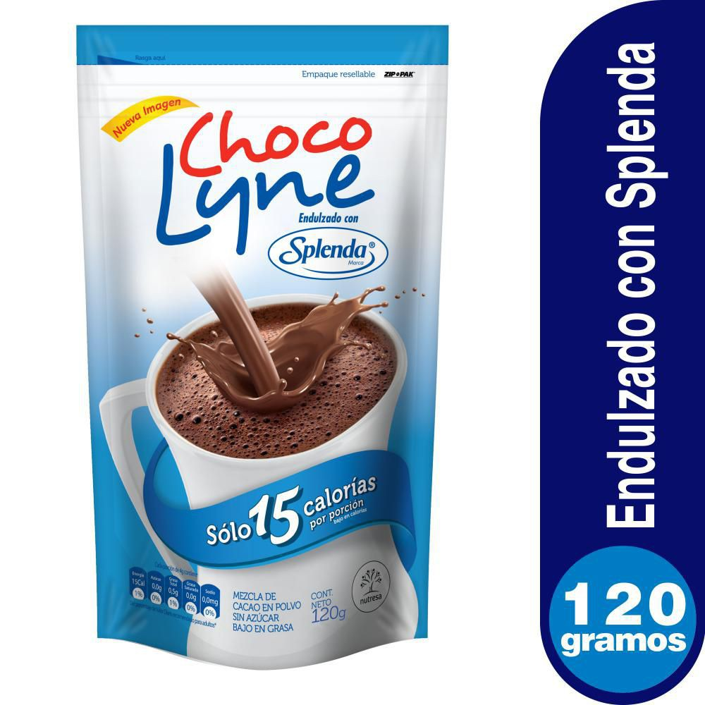 Chocolate Con Splenda Doy Pack X 120 gr