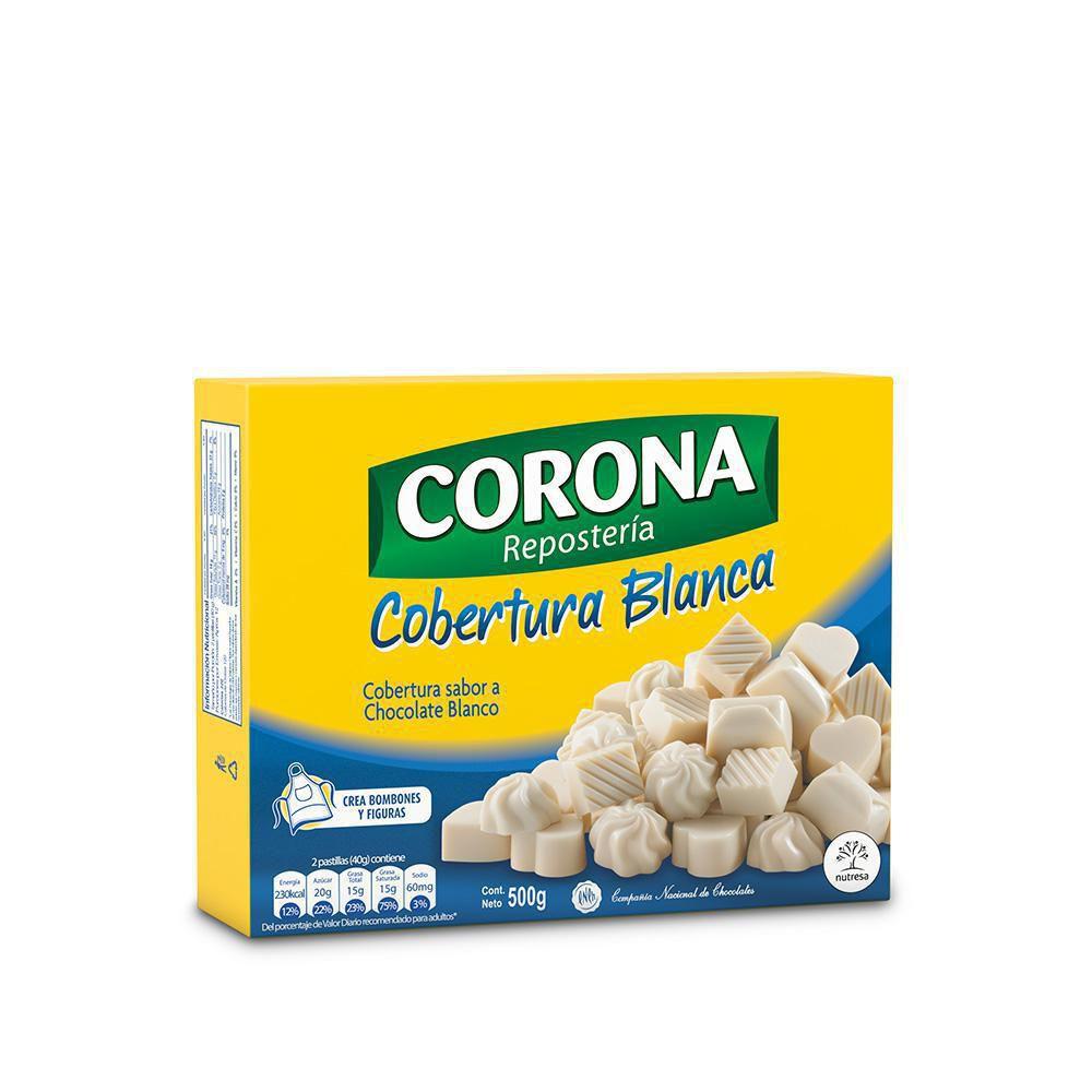 Cobertura Sabor A Chocolate Blanco X 500 gr