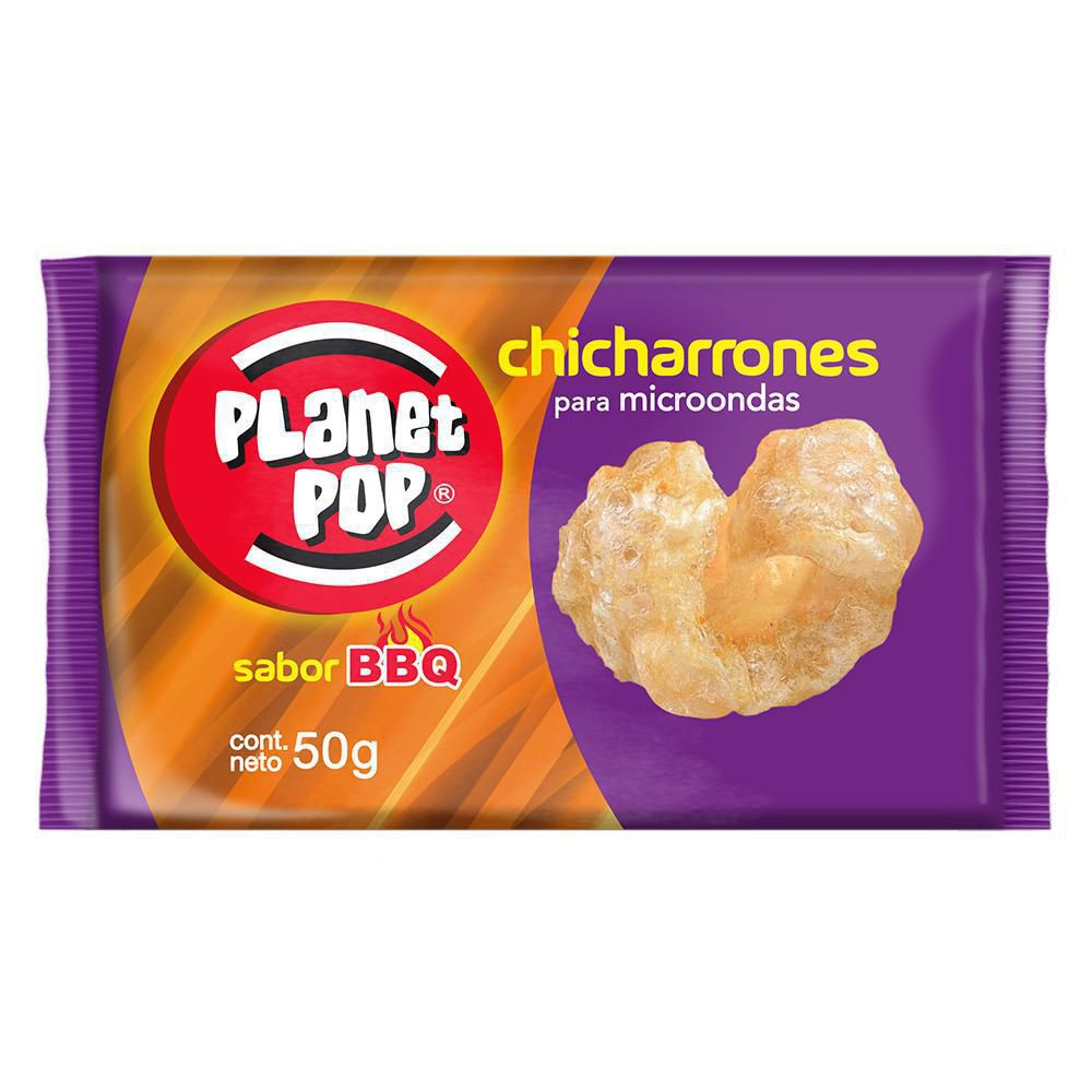 Chicharron B.b.q X 50 gr
