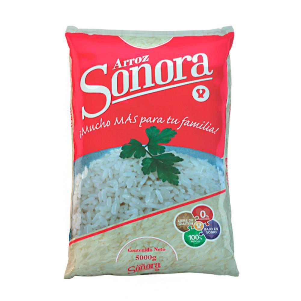 Arroz Blanco Sonora X 5 kg