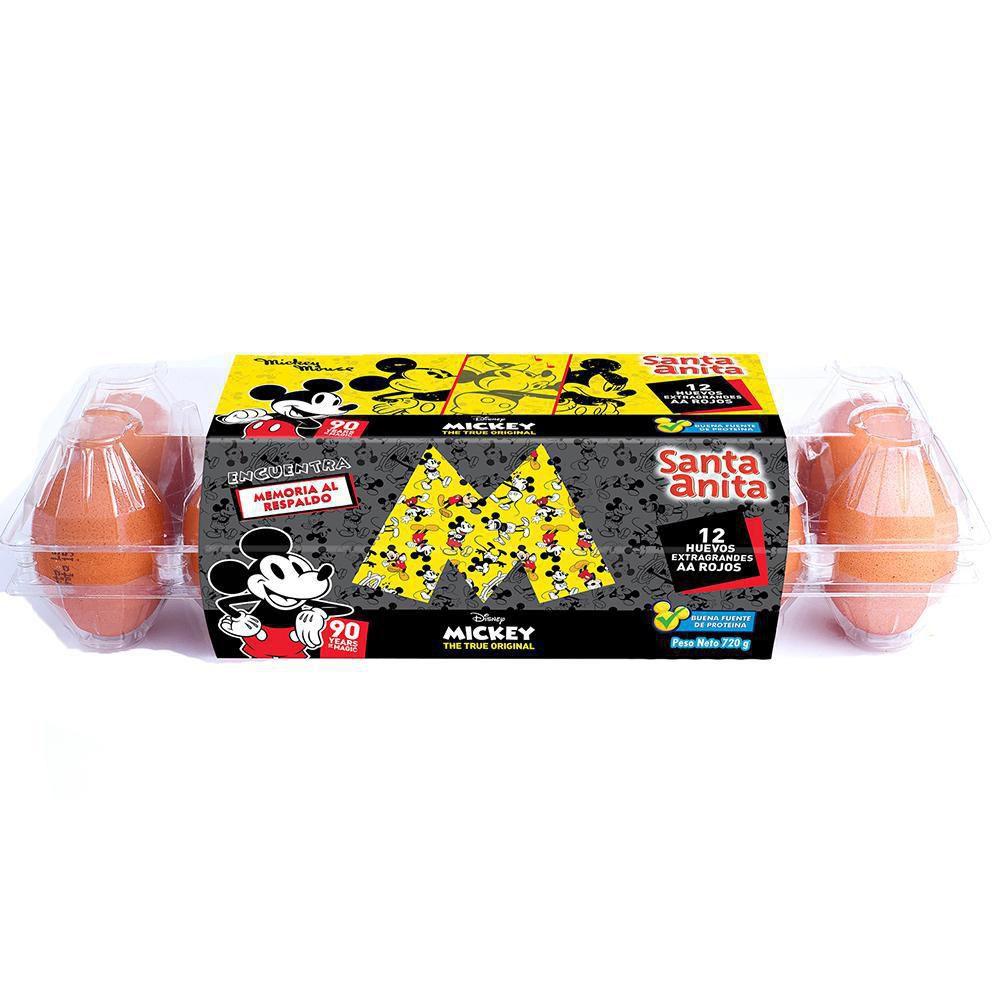 Huevo Rojo Aa X 12 Unidades