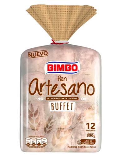 Pan artesano buffet