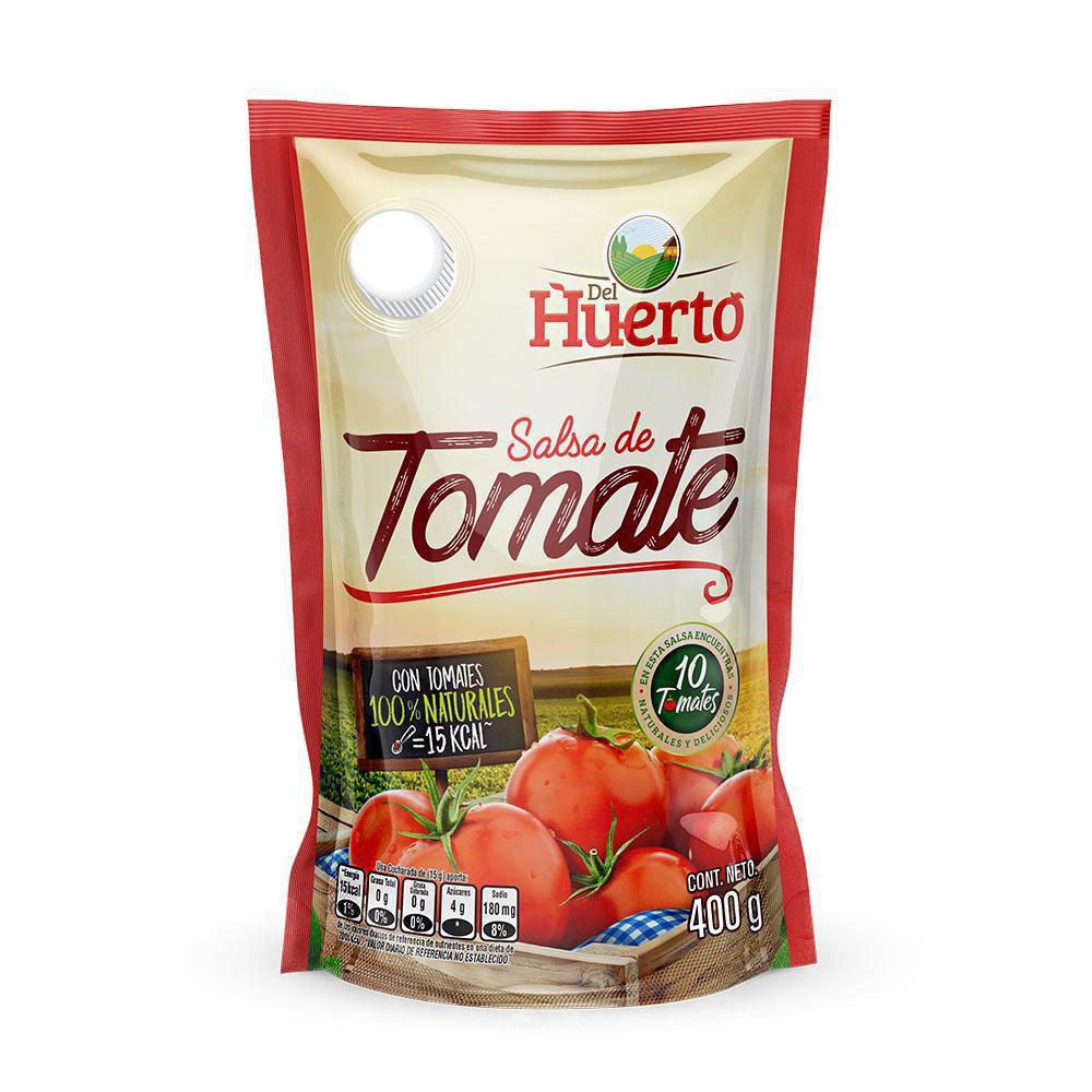 Salsa De Tomate Del Huerto X 400 gr