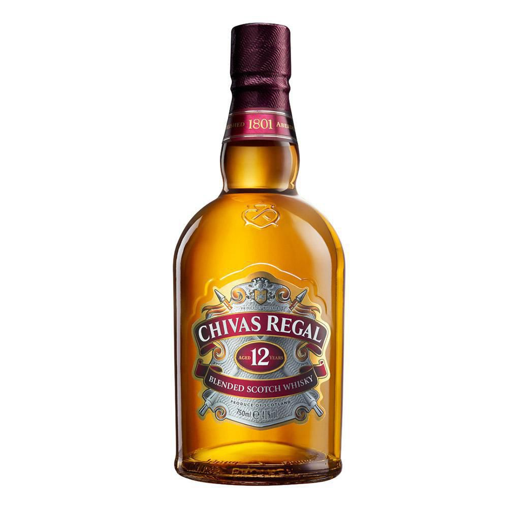 Whisky Chivas Regal 12 Años X 750 ml