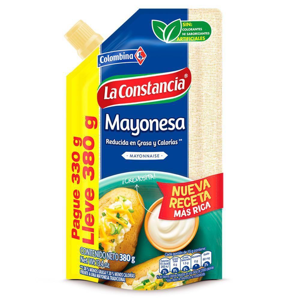 Mayonesa 330 Lleve 380