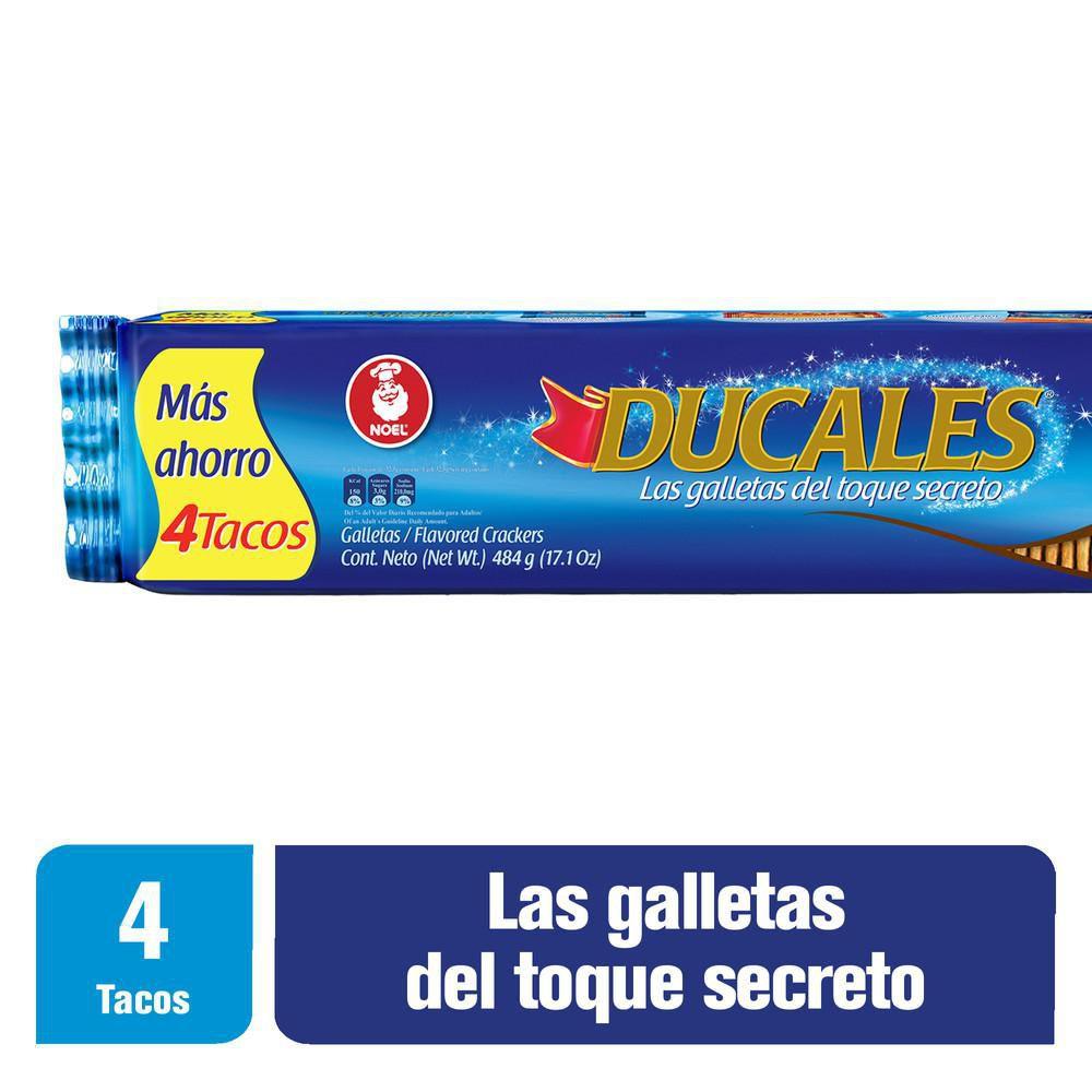 Taco Galletas X 4 X 484 gr