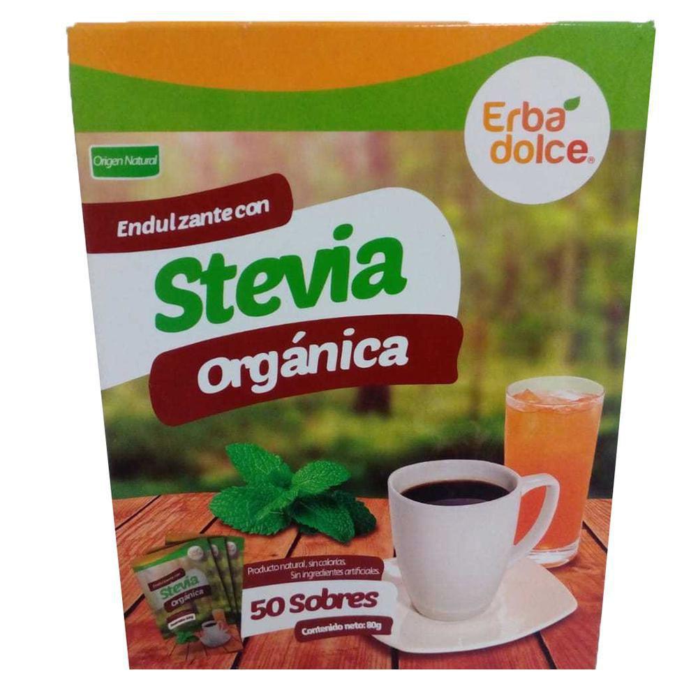 Endulzante Granulado Caja Con Stevia X 50 Sobres