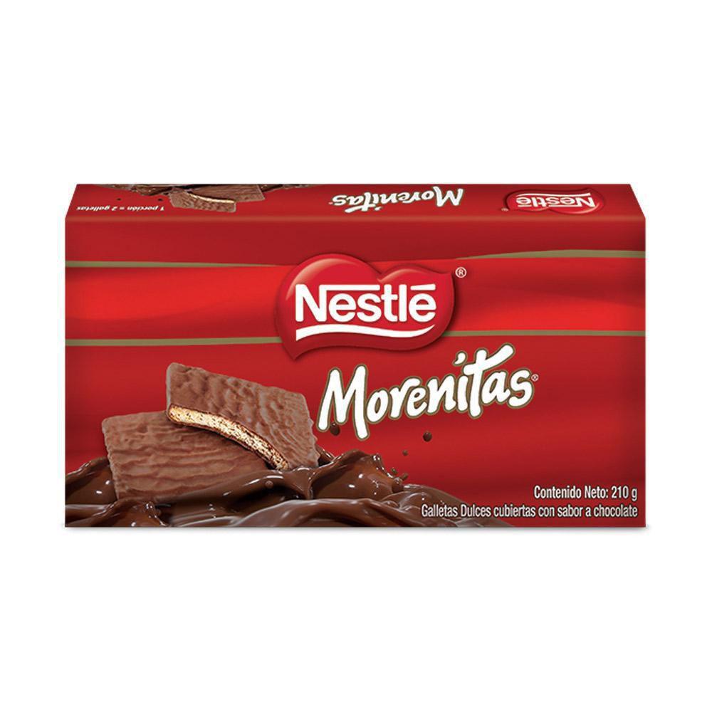 Nestle Morenitas Recubiertos Caja Con 12 Unidades Por 210 G