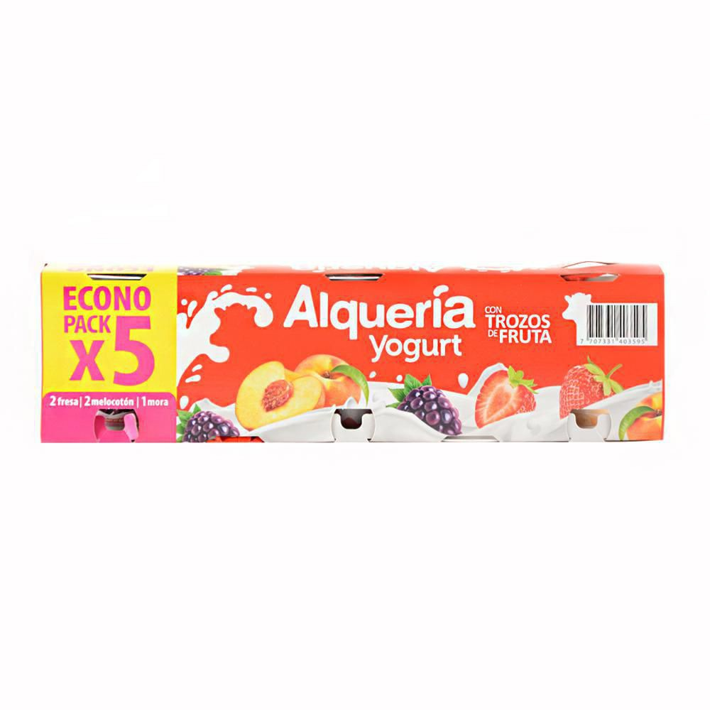 Pack X5 Yogurt Surt C Frutas