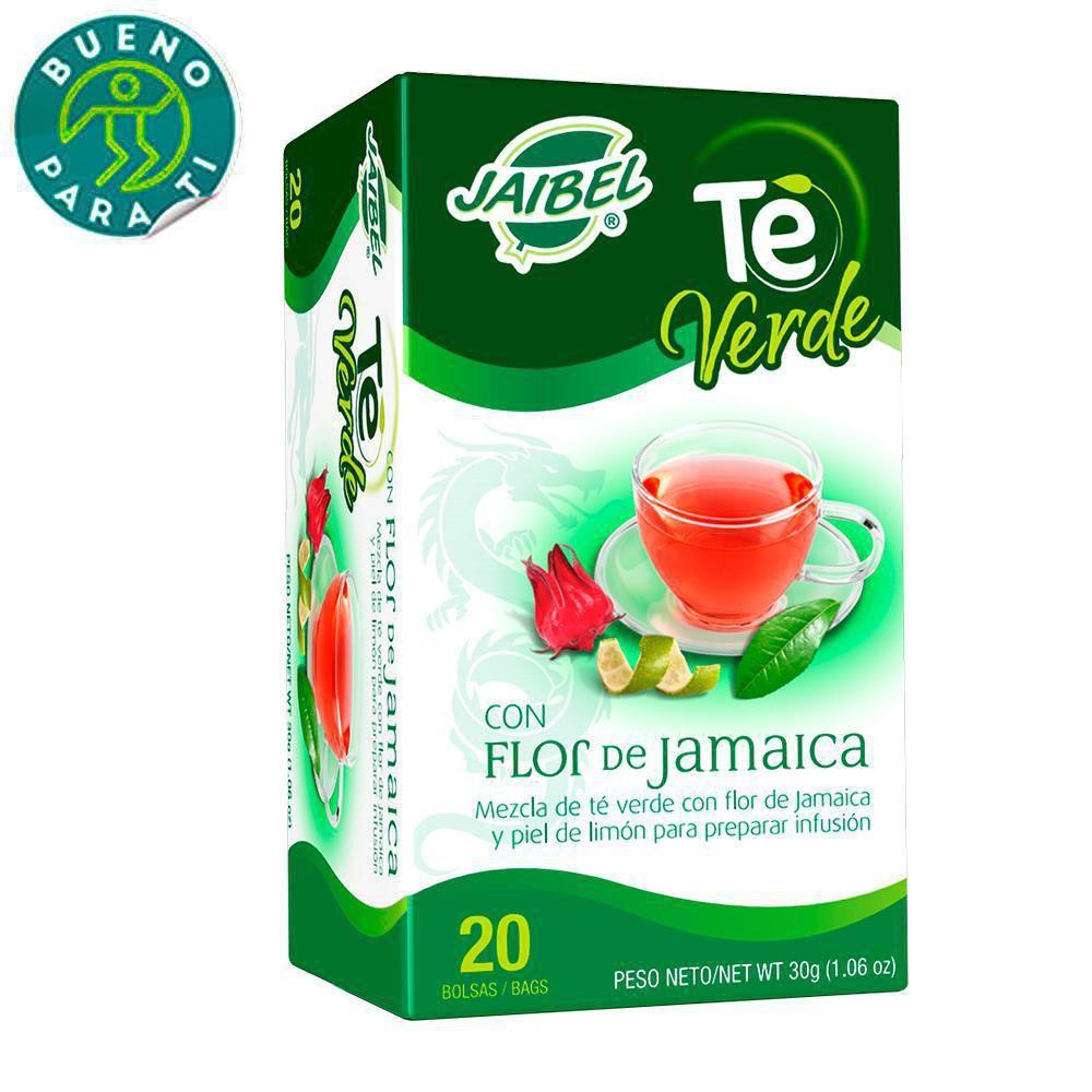 Te Verde Con Flor De Jamaica