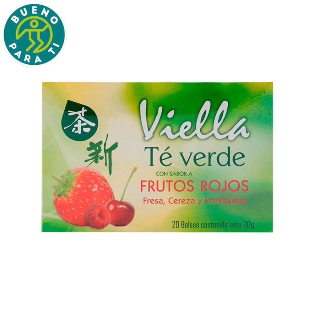 Te Verde Viella Frutos Rojos